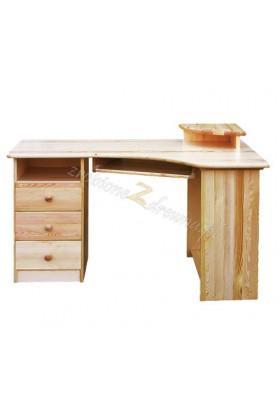Rohový psací stůl levý