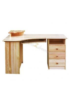 Rohový psací stůl pravý