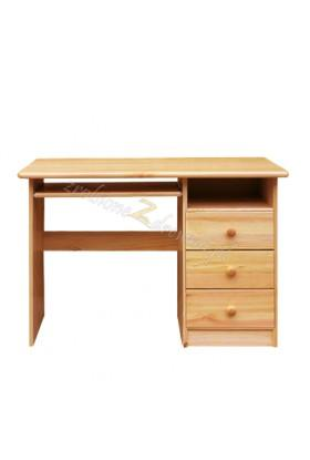 Borovicový psací stůl 3S