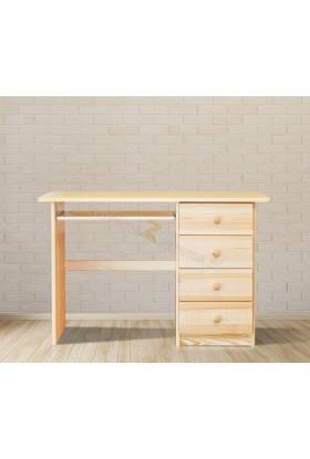 Borovicový psací stůl 4S