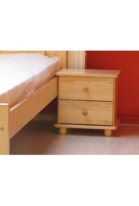 Noční stolek 2S