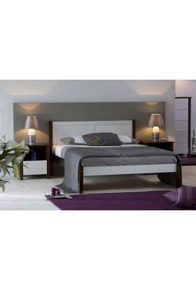 Borovicová postel 49