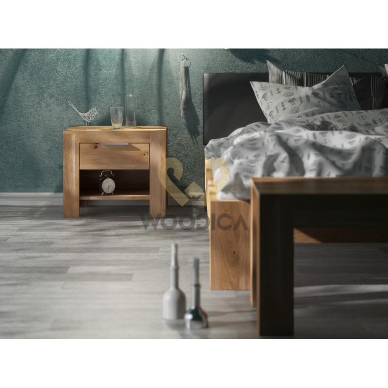 Łóżko dębowe Vernalis 06>                                         <span class=