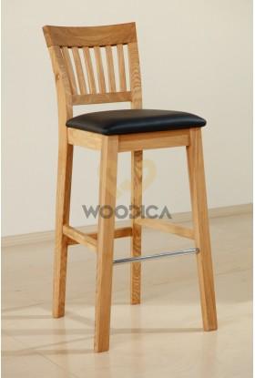 Krzesło dębowe barowe 02