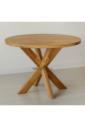 Stół masyw 07 Owal/Okrągły