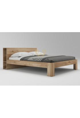 Łóżko dębowe Vernalis 03