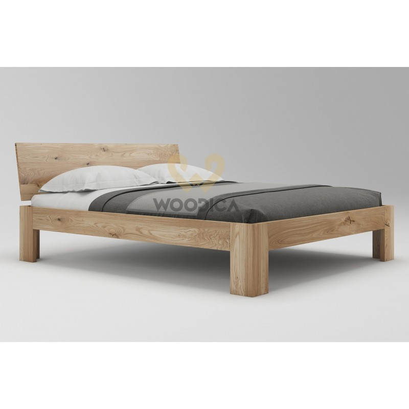 Łóżko dębowe Vernalis 04>                                         <span class=
