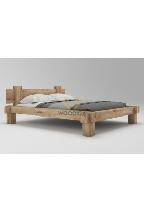 Łóżko dębowe Muscari 01