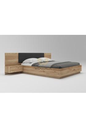 Łóżko dębowe Podnoszone 03