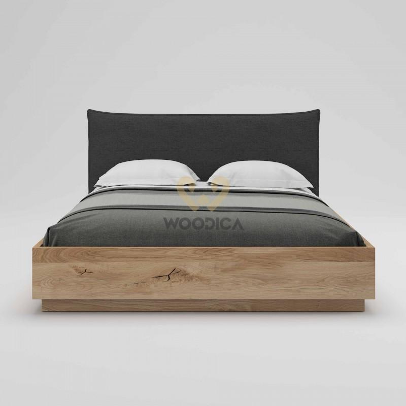 Łóżko dębowe Silene 01>                                         <span class=