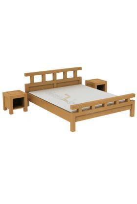 Břízová postel L7
