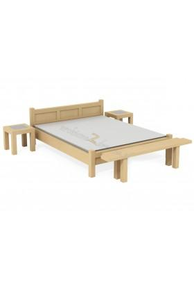 Břízová postel L8