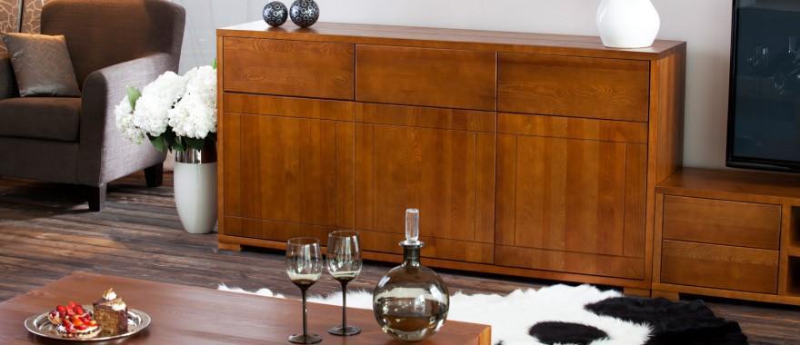 Dřevěná komoda Genua