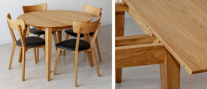Židle dubové