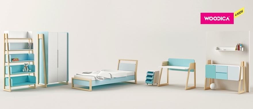 Dětský nábytek z masivu Loll